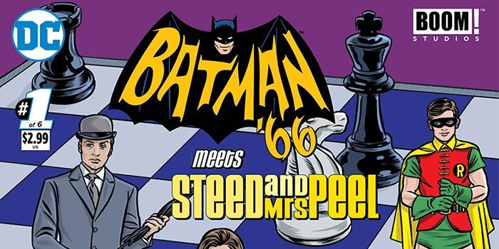 Batman 66 Meets Steed and Mrs Peel Destacada