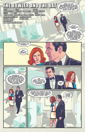 Batman 66 Meets Steed and Mrs Peel Página interior (1)