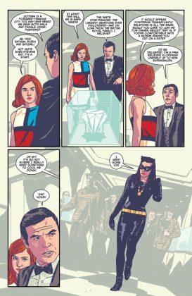 Batman 66 Meets Steed and Mrs Peel Página interior (2)
