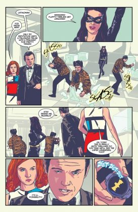 Batman 66 Meets Steed and Mrs Peel Página interior (3)