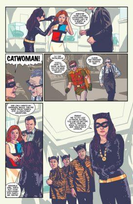 Batman 66 Meets Steed and Mrs Peel Página interior (5)