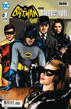 Batman 66 Meets Steed and Mrs Peel Portada alternativa de Cat Staggs