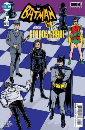Batman 66 Meets Steed and Mrs Peel Portada principal de Mike y Laura Allred