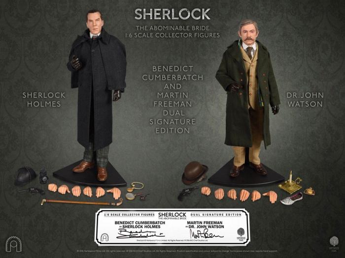 Big Chief Studio figuras Sherlock y Watson Destacada