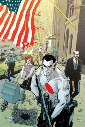 Bloodshot U.S.A. Portada alternativa de Cully Hamner