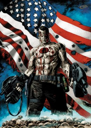 Bloodshot U.S.A. Portada alternativa de Doug Braithwaite