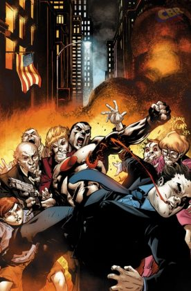 Bloodshot U.S.A. Portada alternativa de Ryan Stegman