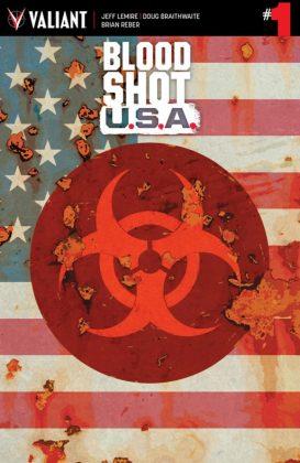 Bloodshot U.S.A. Portada principal de Kano