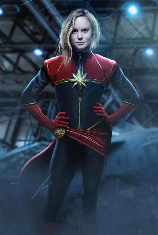 Brie Larson Capitana Marvel BossLogic