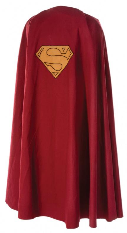 Capa de Superman III- Christopher Reeve - a subasta