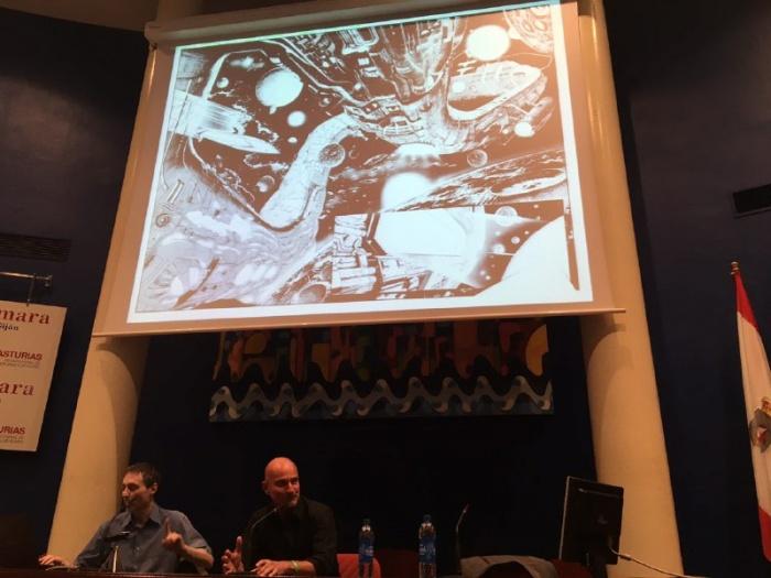 Claudio Castellini Metrópoli Comic Con 1
