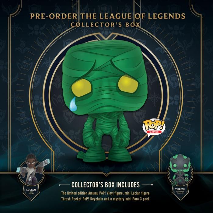 Funko League of Legends Collector's Box