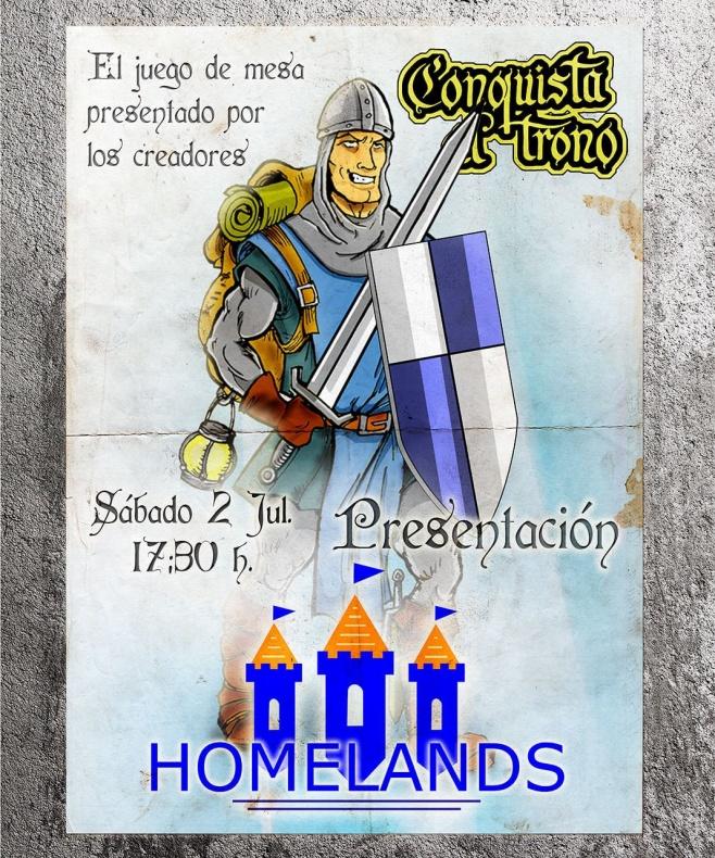 Conquista el Trono Dragonaco Homelands