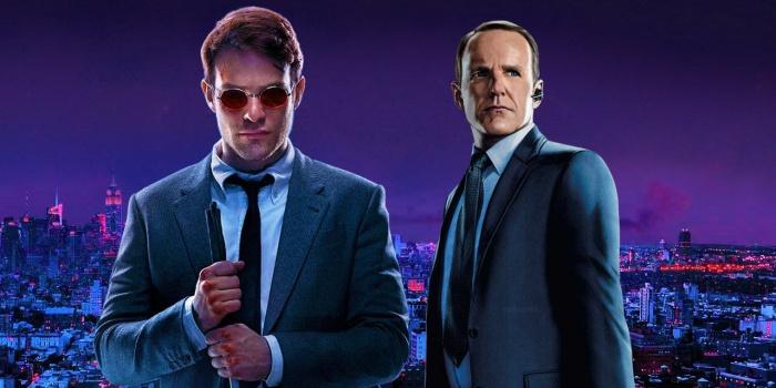 Coulson (SHIELD) y Matt Murdock (Daredevil)