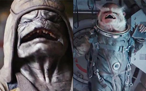 Criaturas Rogue One Star Wars