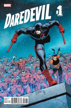 Daredevil Annual Portada alternativa de Roger McKenzie