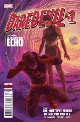 Daredevil Annual Portada principal de Vanesa R. Del Rey