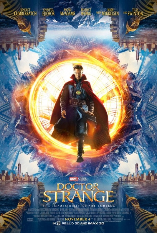 Doctor Strange - Comic-Con póster