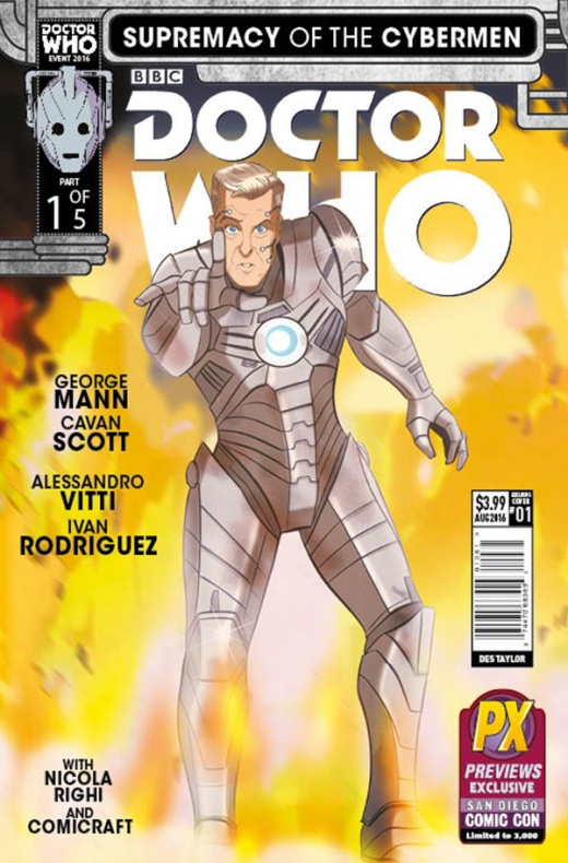Doctor Who Event 2016 Diamond SDCC Exclusive Cover Des Taylor New 56dc3