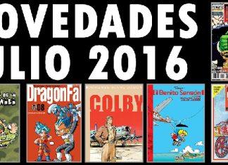 Dolmen Novedades Julio 2016
