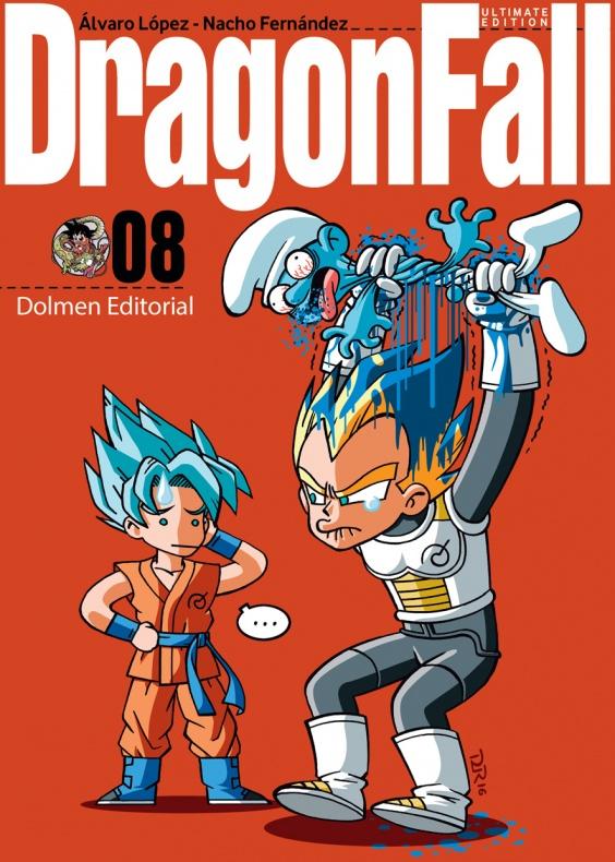Dragon Fall 8 Dolmen Portada