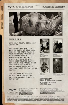 E.V.I.L. Heroes Página interior (1)