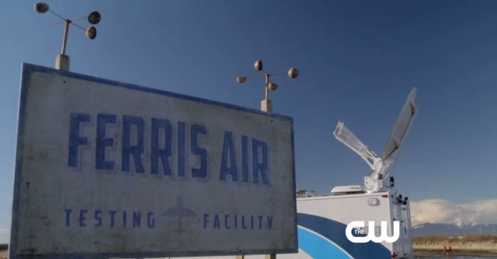 Ferris Air - easter egg en 'The Flash'