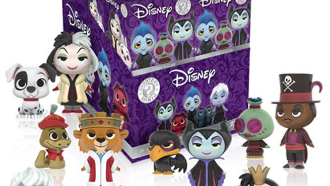 Funko Mystery Mini villanos Disney Destacada