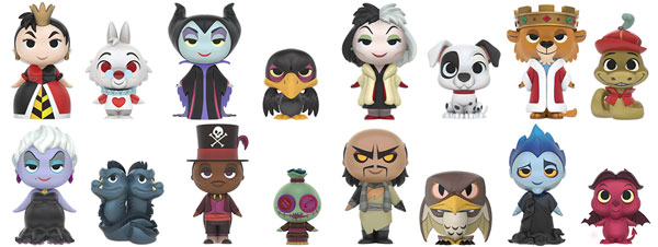 Funko Mystery Mini villanos Disney