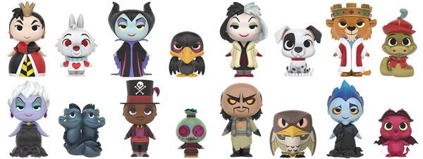 Funko Mystery Mini villanos Disney