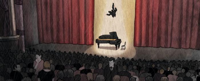 Glenn Gould Sandrine Revel Astiberri
