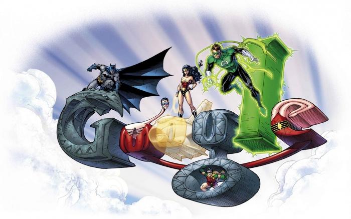Google DC Superheroes