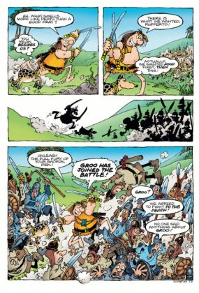 Groo Fray of the Gods Página interior (1)