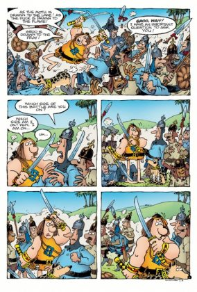 Groo Fray of the Gods Página interior (2)