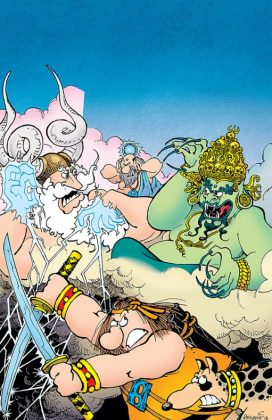 Groo Fray of the Gods Portada de Sergio Aragonés