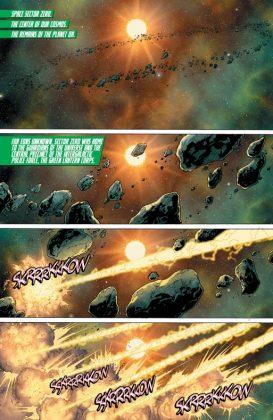 Hal Jordan and the Green Lantern Corps Rebirth Página interior (1)