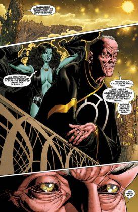 Hal Jordan and the Green Lantern Corps Rebirth Página interior (3)