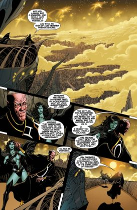 Hal Jordan and the Green Lantern Corps Rebirth Página interior (4)
