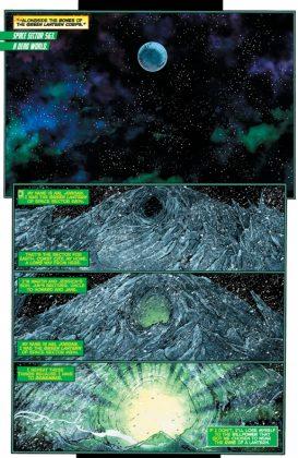 Hal Jordan and the Green Lantern Corps Rebirth Página interior (5)