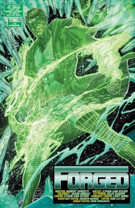 Hal Jordan and the Green Lantern Corps Rebirth Página interior (6)