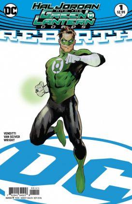 Hal Jordan and the Green Lantern Corps Rebirth Portada alternativa de Cary Nord