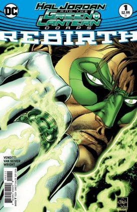 Hal Jordan and the Green Lantern Corps Rebirth Portada principal de Ethan Van Sciver