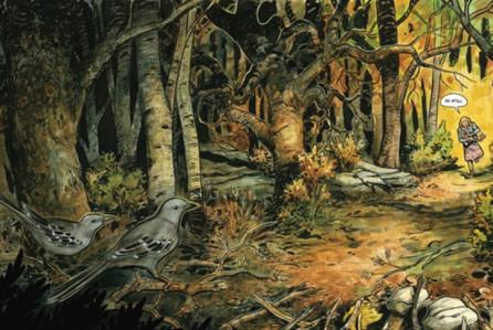 El bosque y sus misterios