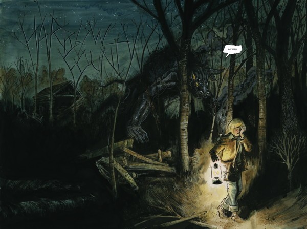 Harrow County Portada