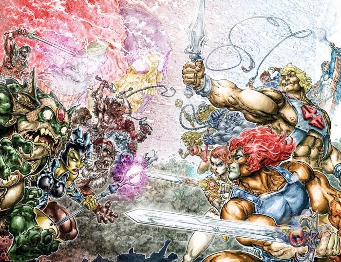 He-Man Thundercats DC Comics