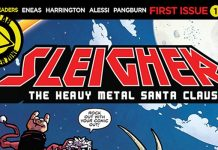 Heavy Metal Santa Claus Destacada
