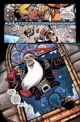 Heavy Metal Santa Claus Página interior (2)