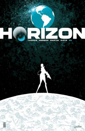 Horizon Portada de Jason Howard