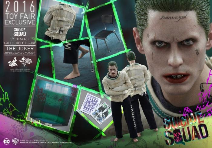 Hot Toys Joker Escuadron Suicida Destacada