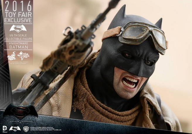 Hot Toys Knightmare Batman Destacada